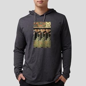 Alphonse Mucha Art Nouveau Pop Long Sleeve T-Shirt