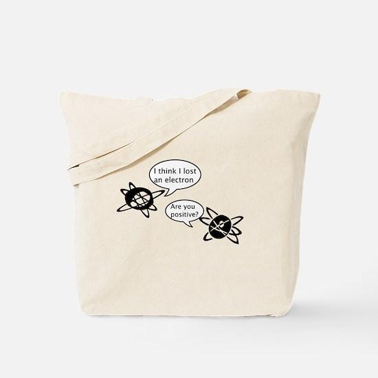 Atoms & Electrons Tote Bag