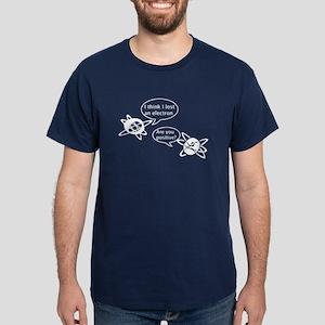 Atoms & Electrons Dark T-Shirt