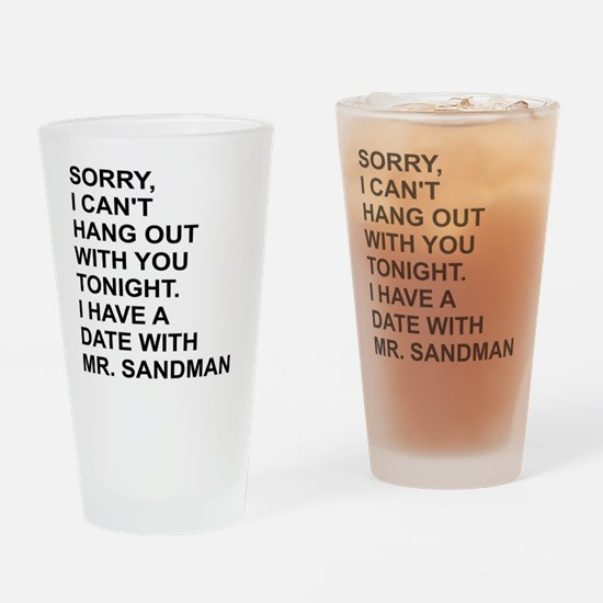 Unique Date Drinking Glass