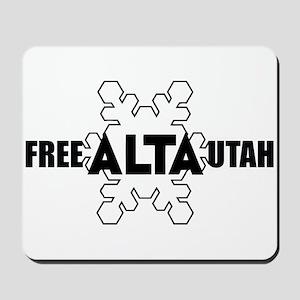 Free Alta Utah Mousepad