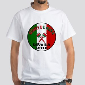 Rivera Cinco De Mayo White T-Shirt