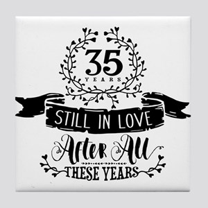 35th Anniversary Tile Coaster