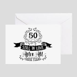 50th Anniversary Greeting Card