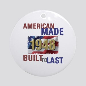 1948 American Made Round Ornament