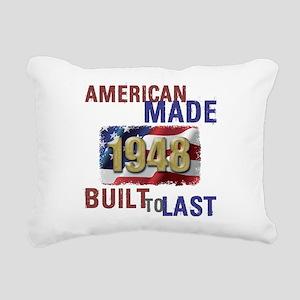 1948 American Made Rectangular Canvas Pillow