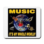 Music Instruments In Space Mousepad