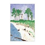 Madisonville Lighthouse Mini Poster Print