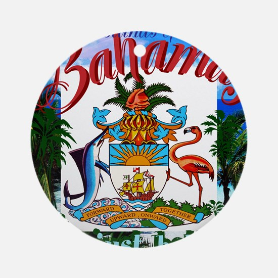 Bahamas Round Ornament