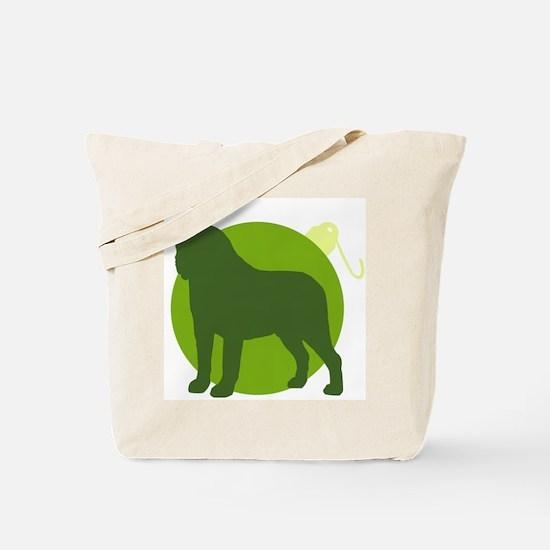 Saint Bernard Ornament Tote Bag