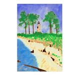 Madisonville Lighthouse Paint Postcards (Package o