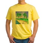 Madisonville Lighthouse Paint Yellow T-Shirt