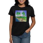 Madisonville Lighthouse Paint Women's Dark T-Shirt