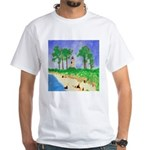Madisonville Lighthouse Paint White T-Shirt