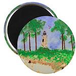 Madisonville Lighthouse Paint Magnet