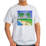 Madisonville Lighthouse Paint Light T-Shirt
