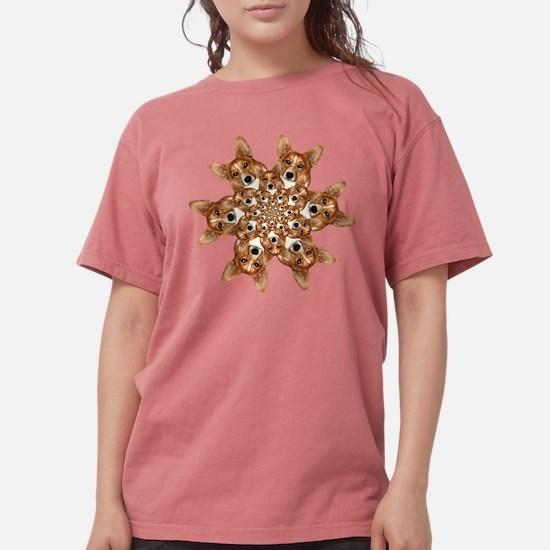 Geo corgi Pip 6 T-Shirt