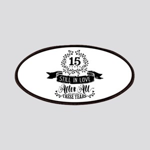 15th Anniversary Patch