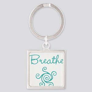 Breathe Square Keychain