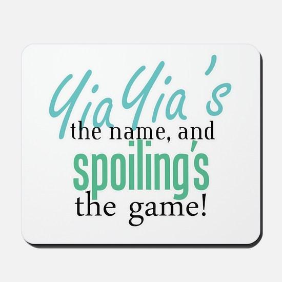 YiaYia's the Name! Mousepad