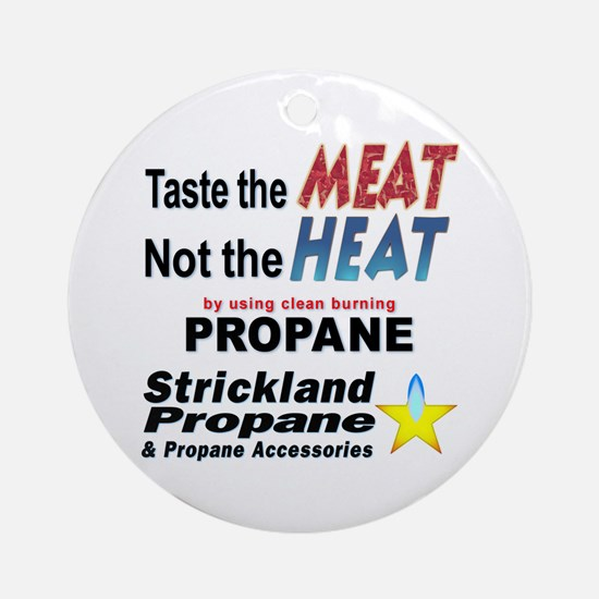 Taste The Meat, Not The Heat Keepsake (Round)