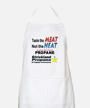 Taste The Meat, Not The Heat BBQ Apron