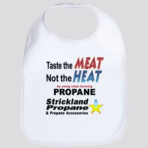 Taste The Meat, Not The Heat Bib