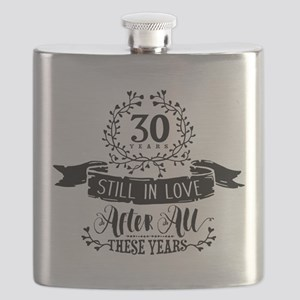 30th Anniversary Flask