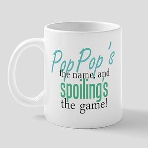 Pop Pop's the Name! Mug