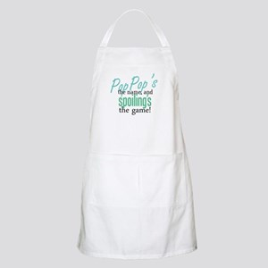Pop Pop's the Name! BBQ Apron