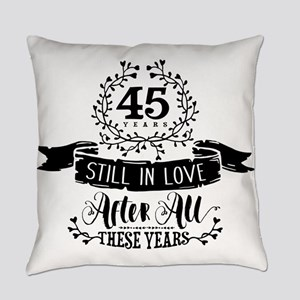 45th Anniversary Everyday Pillow