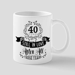 40th Anniversary Mug