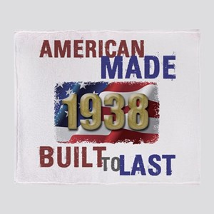 1938 American Made Throw Blanket