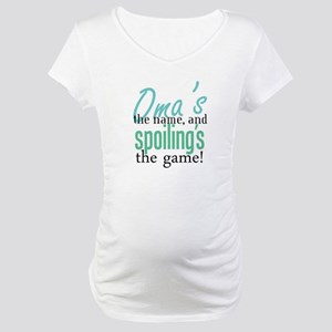 Oma's the Name! Maternity T-Shirt