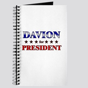 DAVION for president Journal