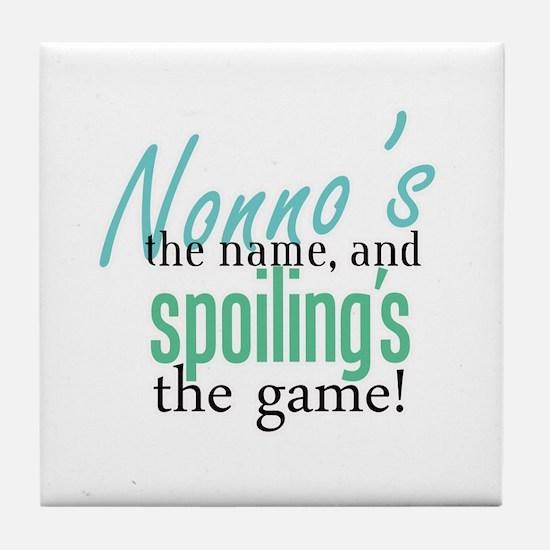 Nonno's the Name! Tile Coaster