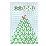 Peace Christmas Tree Postcards (Package of 8)