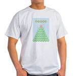 Peace Christmas Tree Light T-Shirt