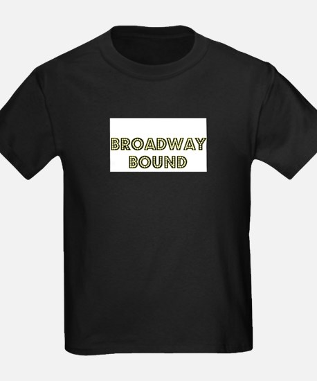 Broadway Bound Kids T-Shirt