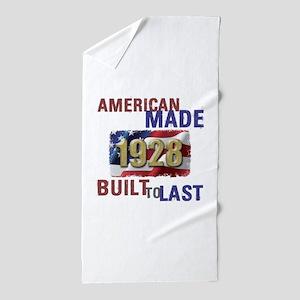 1928 American Made Beach Towel