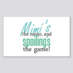 Mimi's the Name! Rectangle Sticker