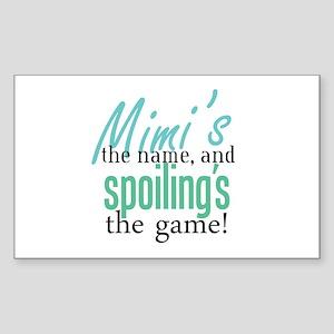 Mimi's the Name! Rectangle Sticker