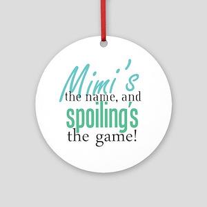 Mimi's the Name! Ornament (Round)