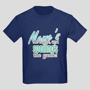 Meme's the Name! Kids Dark T-Shirt