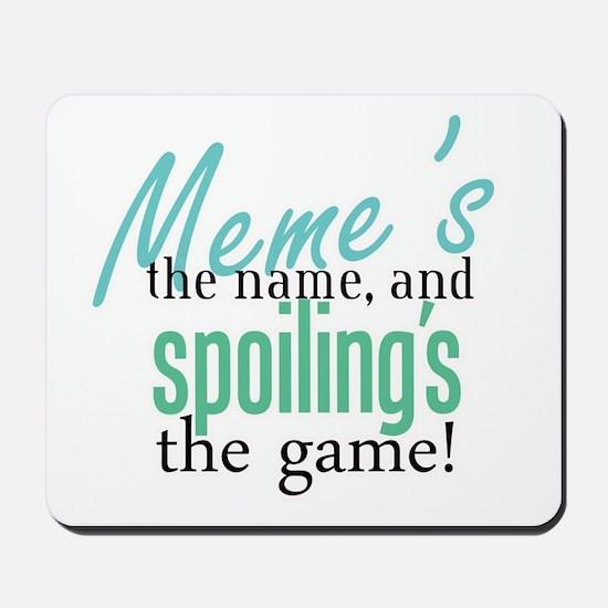 Meme's the Name! Mousepad