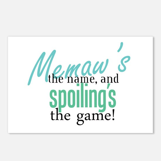Memaw's the Name! Postcards (Package of 8)