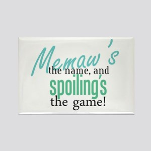 Memaw's the Name! Rectangle Magnet