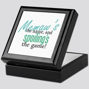 Memaw's the Name! Keepsake Box