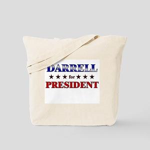 DARRELL for president Tote Bag