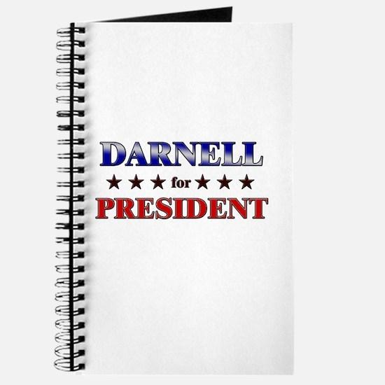 DARNELL for president Journal